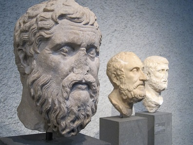 Head of Plato. Basel / Archaeological Museum. Photo: UK.