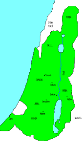 The Hasmonean Kingdom at its greatest extent. Source: Machaerus from nl / https://creativecommons.org/licenses/by-sa/3.0/deed.en