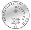 Switzerland. 20 Franken