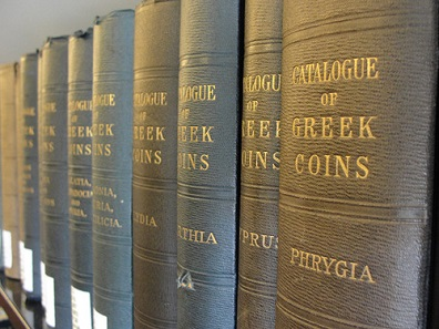 The library is undoubtedly one of the largest and most complete reference collections on ancient numismatics situated on the West coast of the U.S.