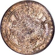Lot 29022: German States. Brunswick-Wolfenbüttel. Friedrich Ulrich, 10 Taler, 1620. Goslar or Zellerfeld mint. Hans Laffers as mint master. KM229, Dav-43 (LS). Estimate: $150,000-$200,000.