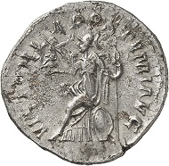 Lot 526: Postumus. Antoninianus, unknown mint, 263. Second known specimen. Very fine. Estimate: 4,500 euros.