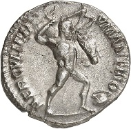 Lot 582: Postumus. Denarius (silver off-metal strike), Cologne, beginning of 268. C. 119 (200 Fr.!). RIC 344. Elmer 493. Bastien, Travaux d'Hercule dans le monnayage de Postume, RN 1958, p. 76, 17 (this coin). From the J. du Lac Collection, Rollin & Feuardent Auction (1910), 284. Very rare. Extremely fine. Estimate: 8,000 euros.