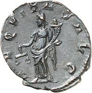 Lot 718: Marius. Antoninianus, Cologne. C. 2. AGK 10. Elmer 641. Extremely rare. Extremely fine. Estimate: 1,500 euros.