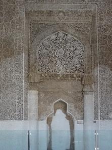Mihrab of Urmia's Jame Mosque. Photo: KW.