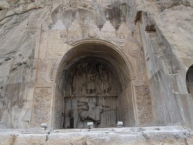 The great iwan. Dedicated to Khosrow II. Photo: KW.