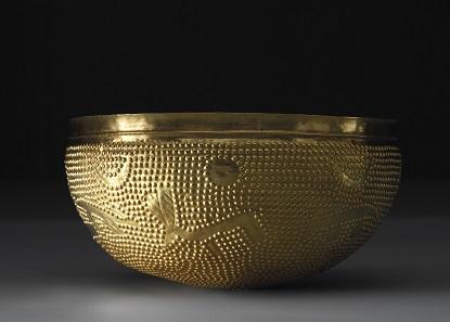 Schale, Gold. Um 1100 v. Chr. Zürich-Altstetten. Kanton Zürich. © Schweizerisches Nationalmuseum.