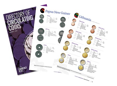 The 2016 edition of the 'Directory of Circulating Coins' is an indispensable guide for anyone involved in the design, production, quality control, validation or use of coins.