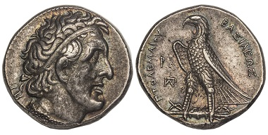 1038238: Greek. Ptolemaic Kings of Egypt. Ptolemy I Soter. Tetradrachm.