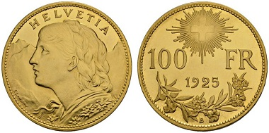 1037896: Switzerland. 1925-B. 100 Francs.
