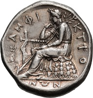 Lot 80: Phocis, Delphi, Amphictionic Council, Aeginetic stater.