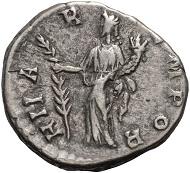 Lot 247: Didia Clara, denarius.