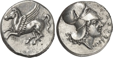 Syracuse. Didrachm, 344-317. From Gorny & Mosch Auction 237 (2016), 1170.