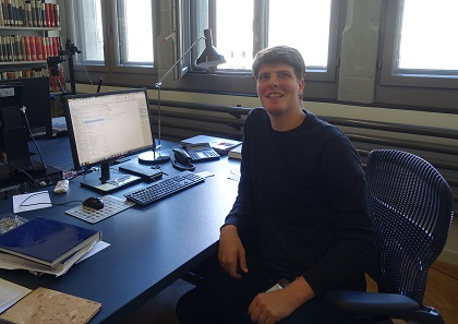 Christian Weiss in his office. Photo: UK.