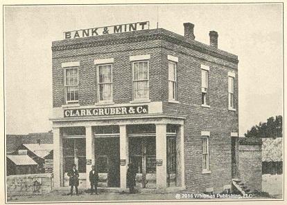 The Clark, Gruber & Co. building. Photo: © 2016 Whitman Publishing, LLC.
