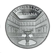Italy / 5 Euros / Silver .925 / 18 g / 32 mm / Designer: Uliana Pernazza / Mintage: 4,000.