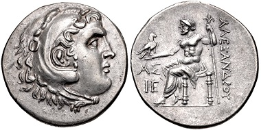 Lot 204: PAMPHYLIA, Aspendos. Circa 212/11-184/3 BC. Tetradrachm. Price 2894; DCA 312. Near extremely fine, toned. From the collection of Will Gordon. Estimate: $300.