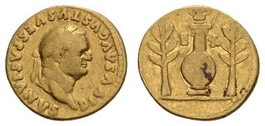 Lot 10039, Titus, aureus, 80-81, 1600 euros