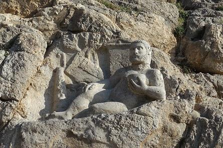Die Herakles-Version von Bisotun, ein wohlgenährtes Kerlchen. Foto: KW.