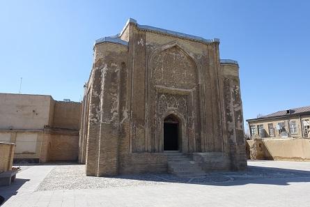 Der Grabturm von Esther und Mordekhai. Foto: KW.
