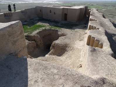 Blick in den Innenhof der Zitadelle. Foto: KW.