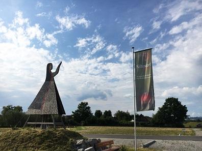 Das Keltendorf Mitterkirchen im Machland lockt seit 1991 Besucherinnen in die Region. Foto: LEADER Region Perg- Strudengau.
