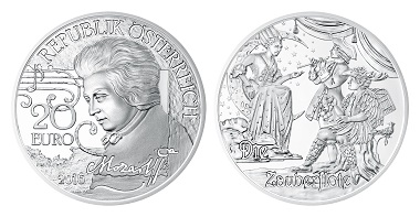 Austria / 20 Euros / Silver .900 / 20g / 34mm / Designers: Helmut Andexlinger and Thomas Pesendorfer / Mintage: 50,000