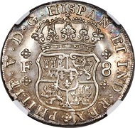 Lot 31109: Mexico 1732 Philip V 8 Reales.