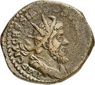 Doppelsesterz, Köln, 261. Rv. HERCVLI MAGVSANO Hercules n. r. Aus der kommenden Auktion Jacquier (16.9.16), Nr. 657. Sehr schön. Taxe: 350 Euro.