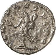 Nachahmung der Prägungen des Postumus. Antoninian, Mzst. II(?). Rv. HERC - PACIFERO. Hercules n. l. Aus der kommenden Auktion Jacquier (16.9.16), 822. Vorzüglich / Fast vorzüglich. Taxe: 50 Euro.