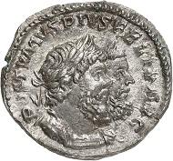 Denar, Köln, Anfang 268. Rv. HERCVLI ER-VMANTHIO Hercules, den erymanthischen Eber auf seiner Schulter; vor ihm versteckt sich Eurystheus in einem Pithos. Aus der kommenden Auktion Jacquier (16.9.16), 582. Vorzüglich. Taxe: 8.000 Euro.