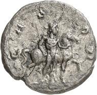 Denar, Köln, Anfang 268. Büste des Postumus und Kopf des Hercules n. l. Rv. CASTOR Der Dioscur Castor n. r., sein Pferd am Zügel haltend. Aus der kommenden Auktion Jacquier (16.9.16), 588. Gutes sehr schön. Taxe: 3.000 Euro.