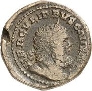 Sesterz, Köln, Herbst 260. Rv. HERCVLI DEVSONIENSI Büste des Hercules mit Gesichtszügen des Postumus. Aus der kommenden Auktion Jacquier (16.9.16), 632. Fast sehr schön. Taxe: 600 Euro.