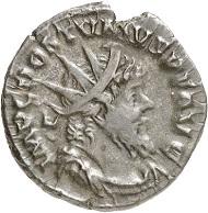 Antoninian, Köln, spätes 268. Rv. C C A A COS IIII (= Colonia Claudia Augusta Agrippinensium) Moneta. Aus der kommenden Auktion Jacquier (16.9.16), 598. Sehr schön. Taxe: 1.500 Euro.