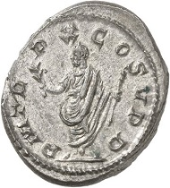 Antonianian, Köln, Anfang 269. Rv. P M TR - P X COS V P P Kaiser. Aus der kommenden Auktion Jacquier (16.9.16), 602. Vorzüglich. Taxe: 1.000 Euro.