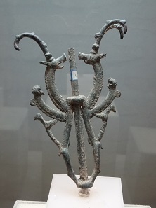 Luristan bronze in the museum of Khorramabad. Photo: KW.