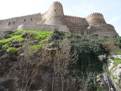 View of the Falak ol-Aflak castle in Khorramabad. Photo: KW.