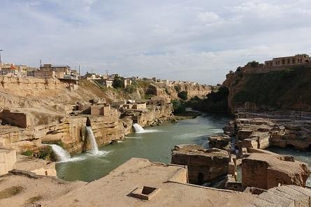 Shushtar water mills. Photo: KW.