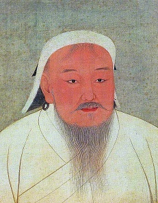 Chinggis Khaan, portrait dating from the 14th century.