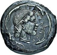 Los 2039: Syrakus (Sizilien). Tetradrachme. 474- ca. 450 v. Chr. Vorzüglich/gutes vorzüglich. Taxe: 4.750 Euro.