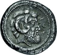 Los 2251: Ägypten. Kyrenaika. Barce. Tetradrachme. 480-435 v. Chr. Taxe: 14.000 Euro.