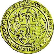 Los 3691: Belgien-Flandres, Comté Louis de Male. 1346-1384. Chais d' or à l' aigle. Vorzüglich. Taxe: 1.800 Euro.