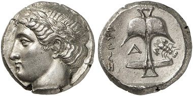 Los 64: APOLLONIA PONTICA (Thrakien). Tetradrachme, 400-350. Vorzüglich. Taxe: 15.000,- Euro.