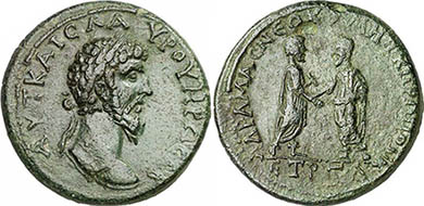 LUCIUS VERUS. Bronze. Ex Gorny & Mosch 186, lot n. 1579. 24,22 g.