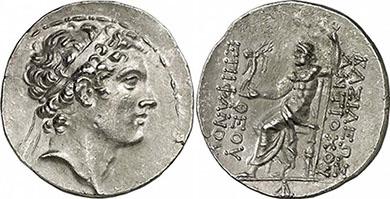 ANTIOCHOS IV. Tetradrachme. Ex Gorny & Mosch 186, lot n. 1459. 16,59 g.