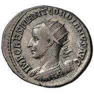 Gordianus III. Antoninianus, Antioch, 238/239. Very fine.