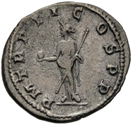 Gordianus III. Antoninian, Antiochia, 238/239. Sehr schön.