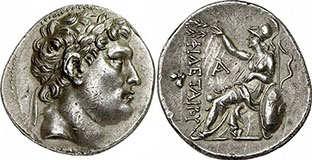 ATTALOS I. Tetradrachme. Ex Gorny & Mosch 180 n. 155. 16,83 g.