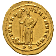 Maximianus I Herculius. Aureus, Carthage, 297/298. Very fine - extremely fine.