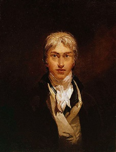 Self-portrait of J.M.W. Turner, ca. 1799. Oil on canvas, Tate Britain.